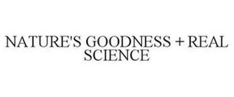 NATURE'S GOODNESS + REAL SCIENCE