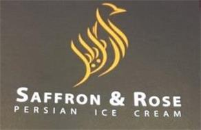 SAFFRON & ROSE PERSIAN ICE CREAM