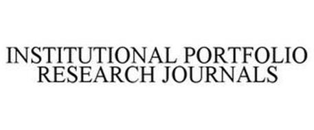 INSTITUTIONAL PORTFOLIO RESEARCH JOURNALS