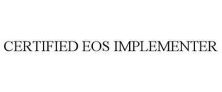 CERTIFIED EOS IMPLEMENTER
