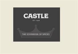CASTLE EST. 1948 THE SOVEREIGN OF SPICES