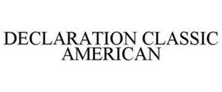 DECLARATION CLASSIC AMERICAN