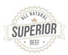 ALL NATURAL SUPERIOR BEEF