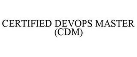 CERTIFIED DEVOPS MASTER (CDM)