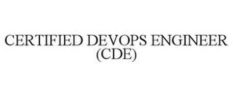 CERTIFIED DEVOPS ENGINEER (CDE)