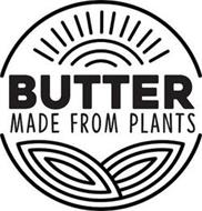 BUTTER MADE FROM PLANTS