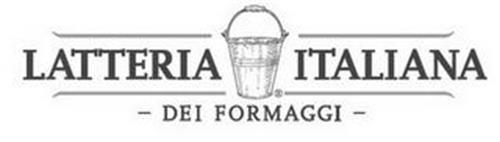 LATTERIA ITALIANA - DEI FORMAGGI -