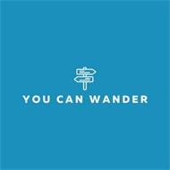 YOU CAN WANDER
