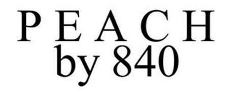 PEACH BY 840