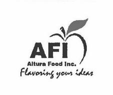AFI, ALTURA FOOD INC., FLAVORING YOUR IDEAS