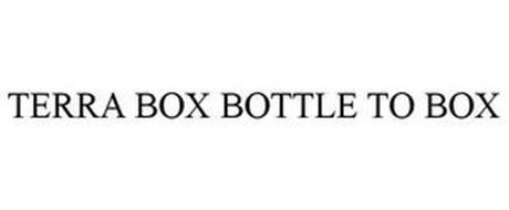 TERRA BOX BOTTLE TO BOX