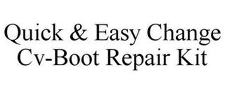 QUICK & EASY CHANGE CV-BOOT REPAIR KIT