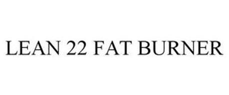 LEAN 22 FAT BURNER
