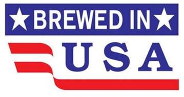 BREWED IN USA