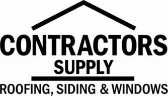 CONTRACTORS SUPPLY ROOFING, SIDING & WINDOWS