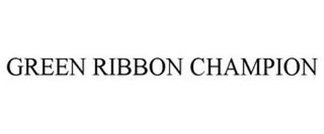 GREEN RIBBON CHAMPION