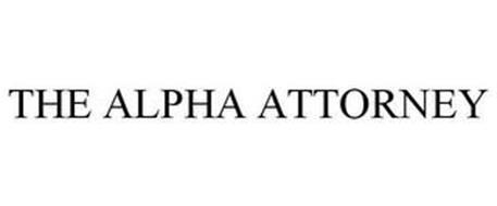 THE ALPHA ATTORNEY
