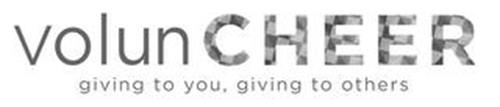 VOLUNCHEER, GIVING TO YOU, GIVING TO OTHERS