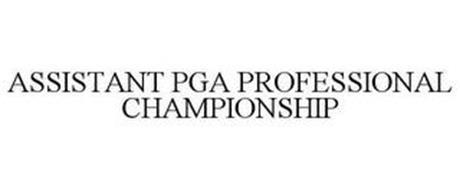 ASSISTANT PGA PROFESSIONAL CHAMPIONSHIP