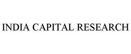 INDIA CAPITAL RESEARCH