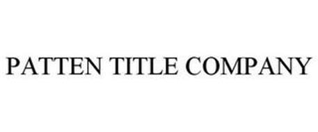 PATTEN TITLE COMPANY