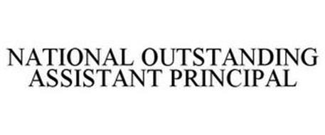 NATIONAL OUTSTANDING ASSISTANT PRINCIPAL
