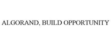 ALGORAND, BUILD OPPORTUNITY