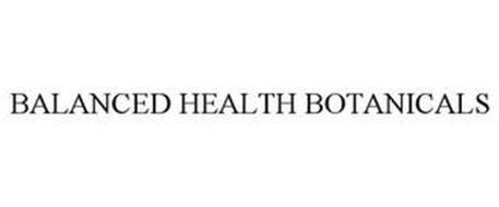 BALANCED HEALTH BOTANICALS