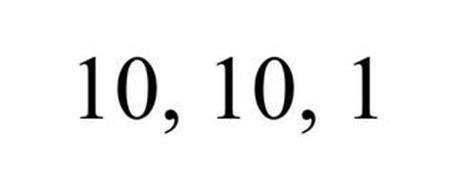 10, 10, 1