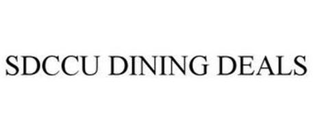 SDCCU DINING DEALS