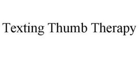 TEXTING THUMB THERAPY