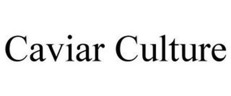 CAVIAR CULTURE