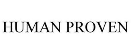 HUMAN PROVEN