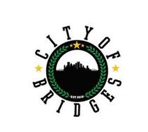 CITY OF BRIDGES EST 2018
