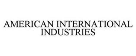 AMERICAN INTERNATIONAL INDUSTRIES