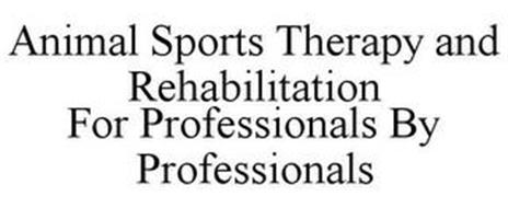 ANIMAL SPORTS THERAPY AND REHABILITATION FOR PROFESSIONALS BY PROFESSIONALS