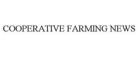 COOPERATIVE FARMING NEWS