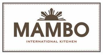 MAMBO INTERNATIONAL KITCHEN