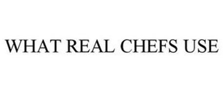 WHAT REAL CHEFS USE