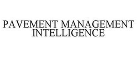 PAVEMENT MANAGEMENT INTELLIGENCE