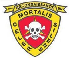 3RD RECON BN CELER MORTALIS SILENS