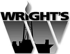 WRIGHT'S W