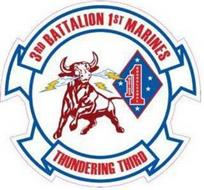 3RD BATTALION 1ST MARINES MARINES GUADALCANAL THUNDERING THIRD