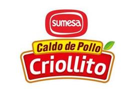 SUMESA CALDO DE POLLO CRIOLLITO