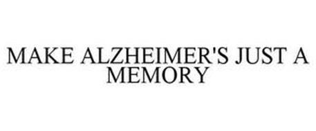 MAKE ALZHEIMER'S JUST A MEMORY