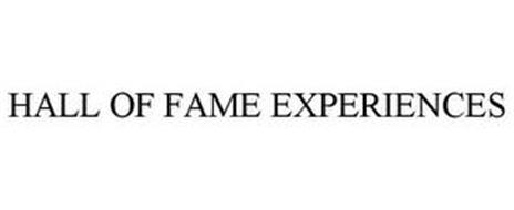 HALL OF FAME EXPERIENCES