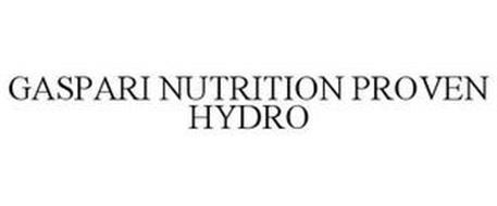 GASPARI NUTRITION PROVEN HYDRO