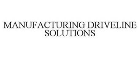 MANUFACTURING DRIVELINE SOLUTIONS