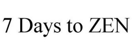 7 DAYS TO ZEN