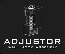 ADJUSTOR WALL HOOK ASSEMBLY